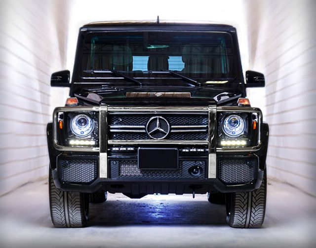 Armored mercedes benz g63 by inkas overlanders for Mercedes benz armored