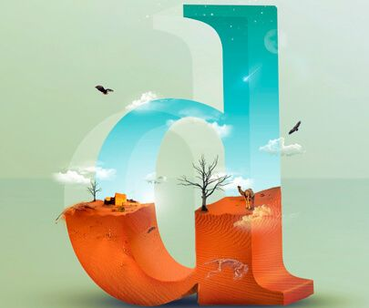 Creative Typography Design Ideas That Will Totally Amaze You #3dtypography