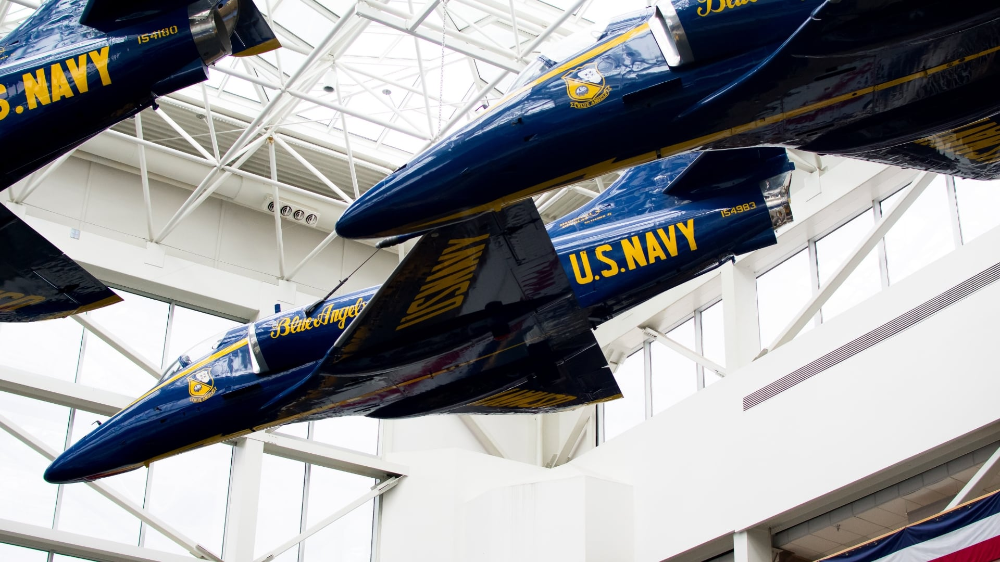 The Blue Angels are one of Pensacola's pride and joys