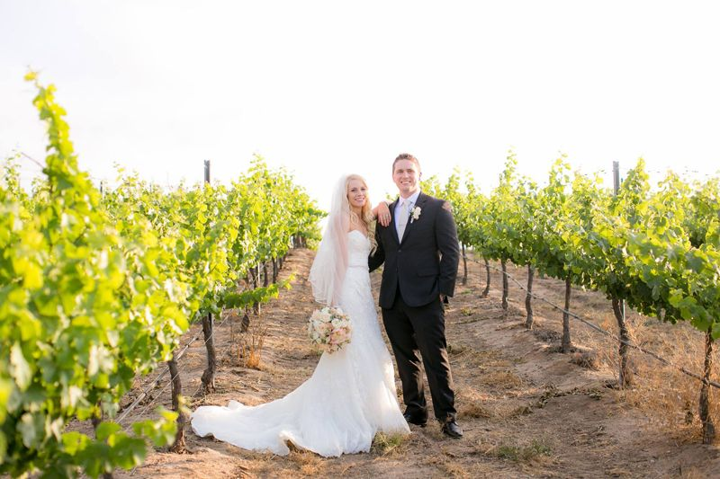 WEDDING WEDNESDAY! Cheers to Nate & Christy Westerfeld! These two tied the knot on May 14, 2016. It was a beautiful day filled with LOVE! #mountpalomarwineryweddings