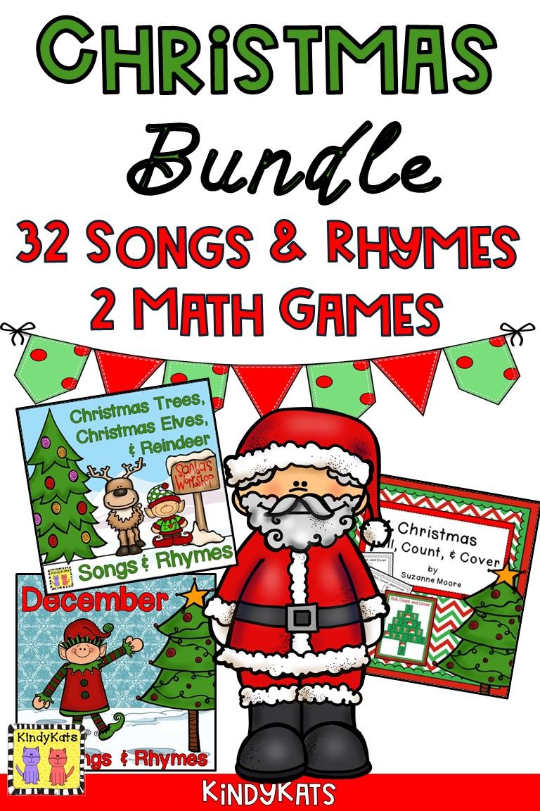 Christmas BUNDLE Songs and Rhymes AND Roll, Count, and
