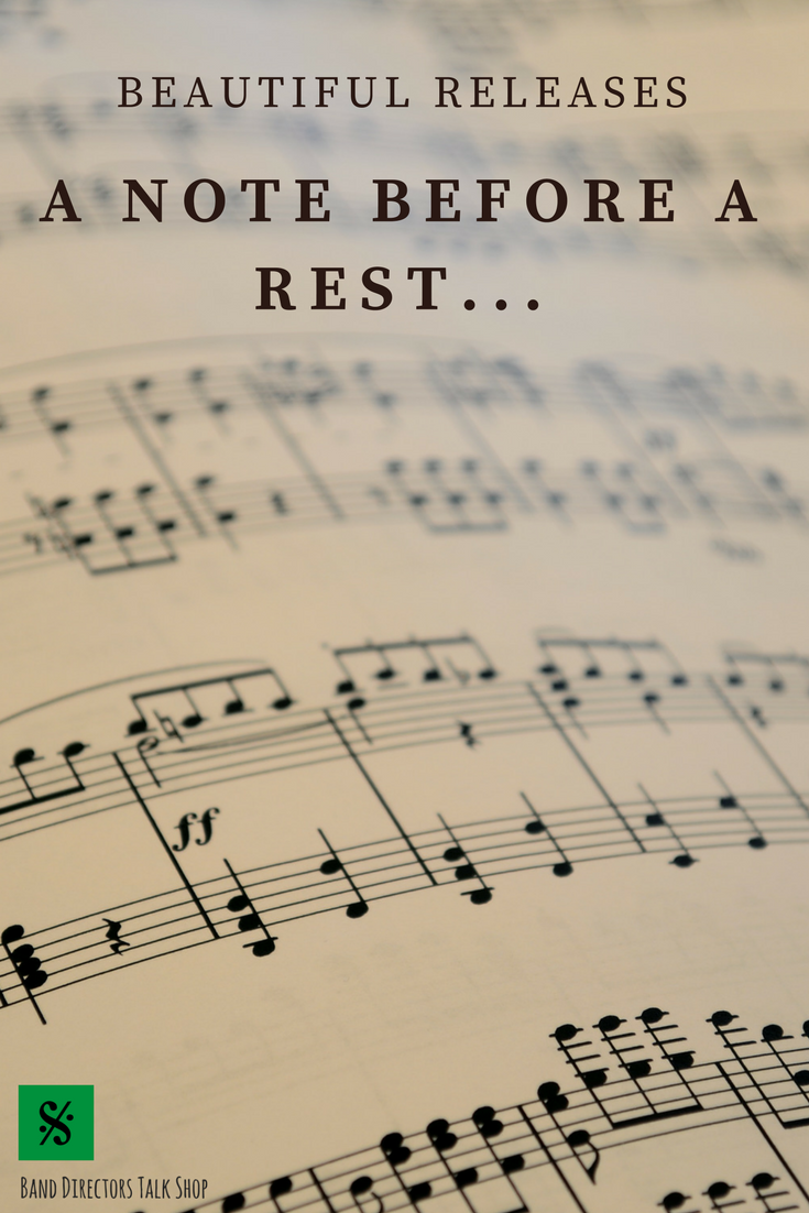 A Note Before A Rest Band Director Resources