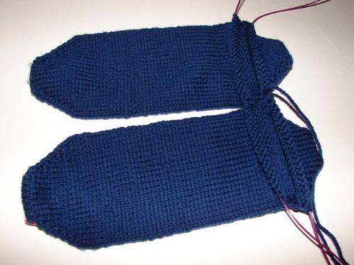 Two Socks On Circular Needles Tutorial Toe Up Knitting