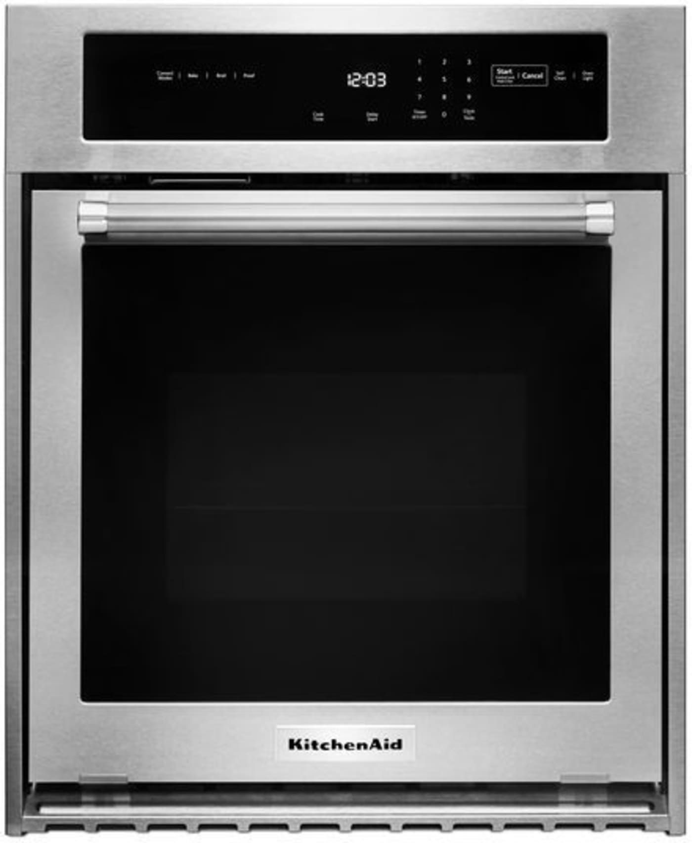 Kosc504ess By Kitchenaid Single Wall Ovens Goedekers Com Single Wall Oven Electric Wall Oven Stainless Steel Oven