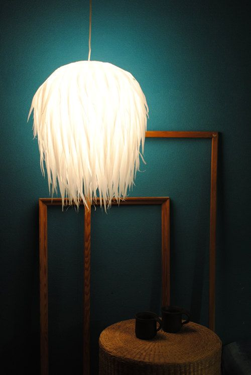 Hanging paper lamp fuzzy by maddadesign on etsy 4600 for the hanging paper lamp fuzzy by maddadesign on etsy 4600 aloadofball Gallery