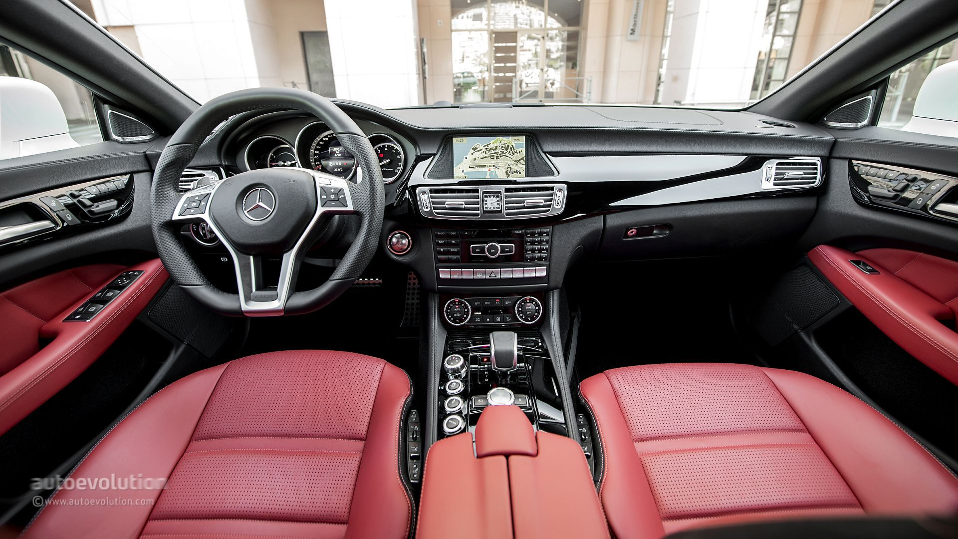 2014 Mercedes-Benz CLS63 AMG 4Matic Original Pictures ...