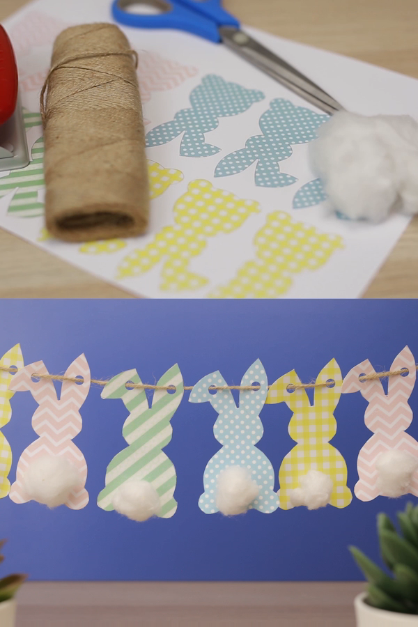 How to Make an Adorable Paper Easter Bunny Garland Free Printable Das schöns ... -  How to Make an Adorable Paper Easter Bunny Garland Free Printable The most beautiful picture for ea - #Adorable #Bunny #Das #Easter #Easterbasketideas #Eastercrafts #Easterdecorations #Easterdessert #Easterdinner #Easterfood #Easterjesus #Easterquotes #Easterrabbit #free #Garland #Paper #Printable #schöns