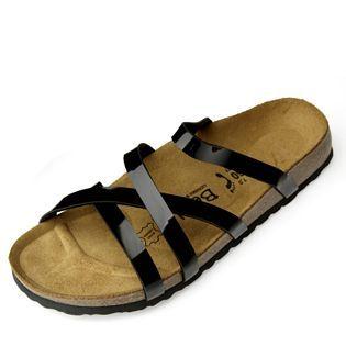 f8d49a615b95 Betula by Birkenstock Stripes Cross Patent Ladies Sandal | Stuff to ...