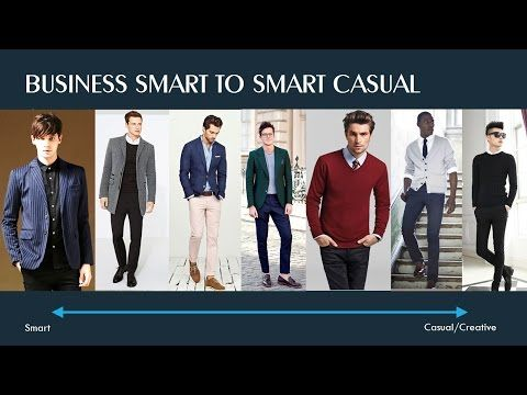 work dress code for men formal business smart casual