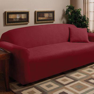 Madison Home Stretch Microfleece Sofa Slipcover