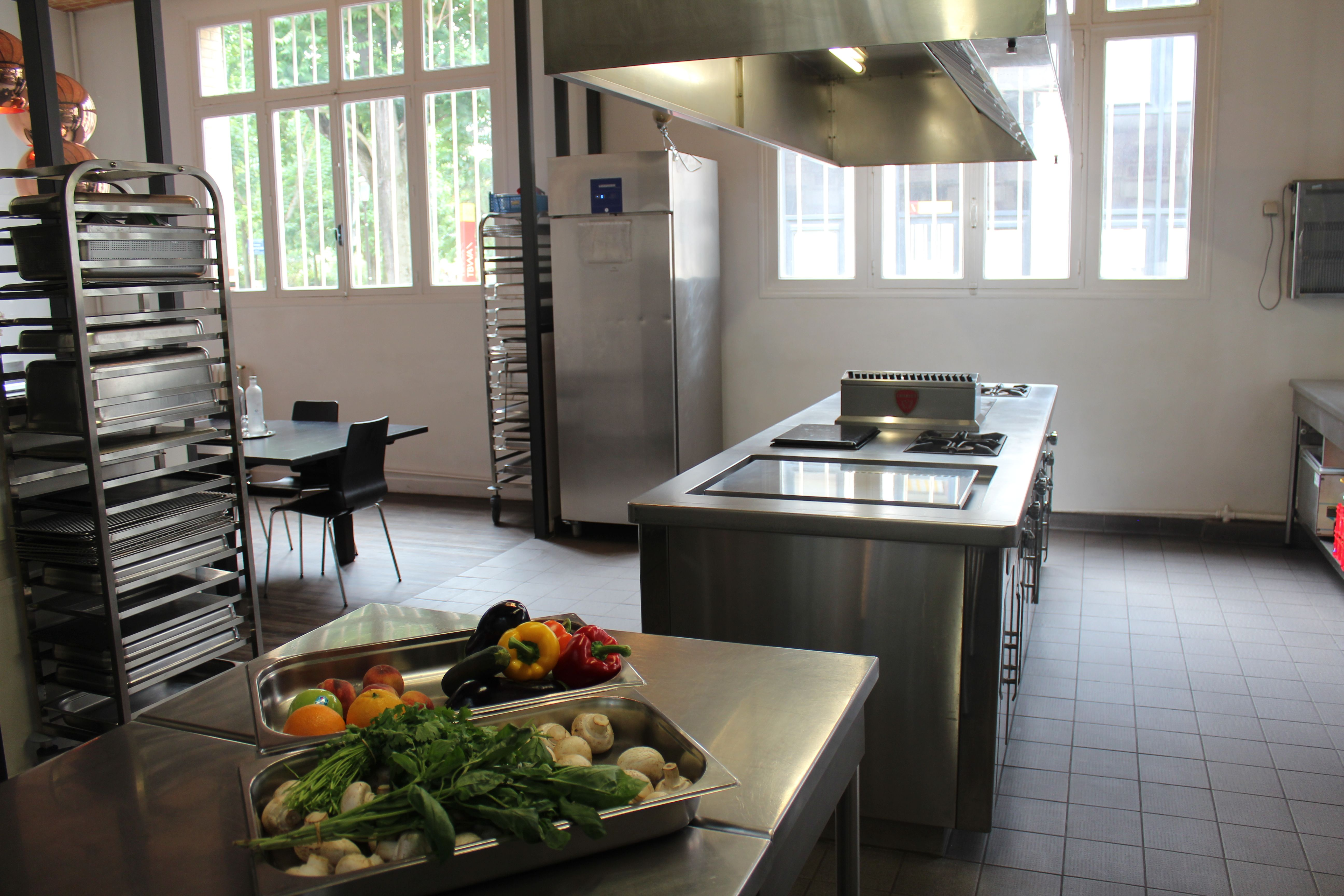 Espace Cuisine Professionnelle Cuisine Loft Cuisines Design Cuisine