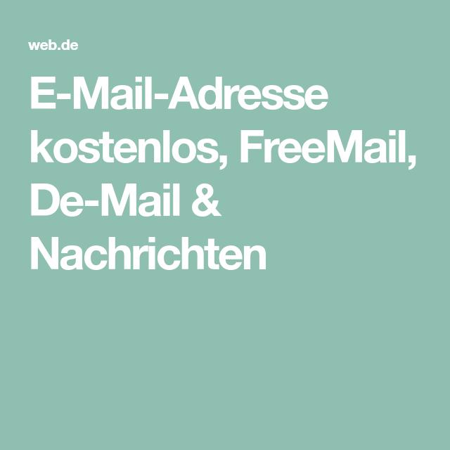 Seriöse Emailadreße