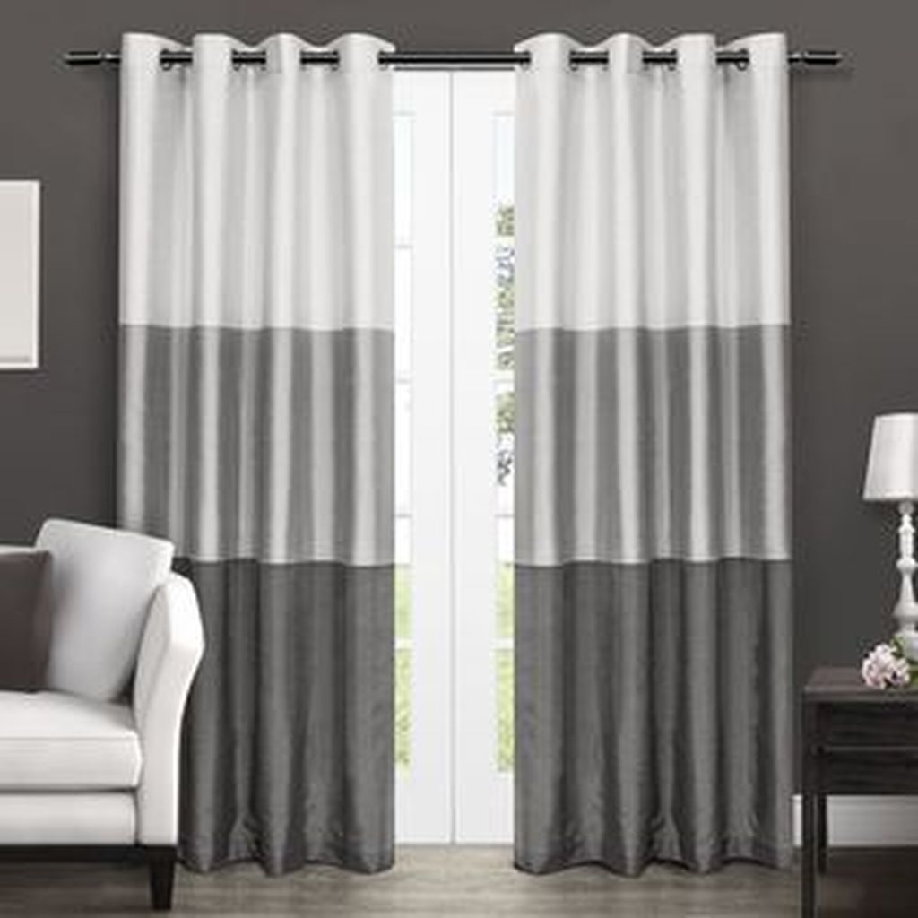 40+ Cheap Farmhouse Curtains For Living Room Decorating ... on Living Room:rabldsgvkje= Farmhouse Curtain Ideas  id=46270