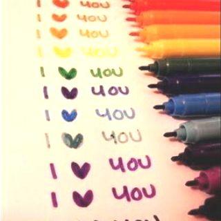 rainbow textas