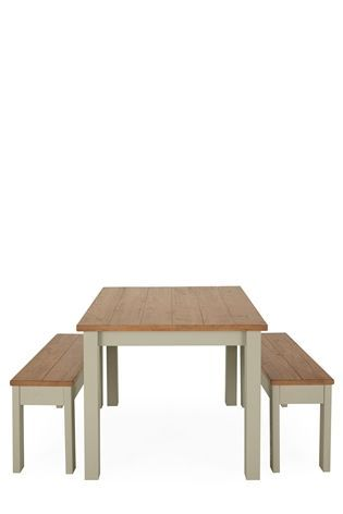 Kendall Painted Dining Table And Bench Set From The Next Uk Online