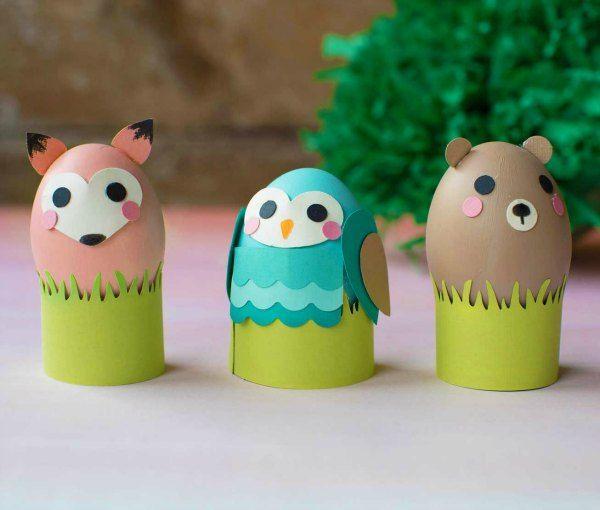 6 Ideas para decorar huevos de Pascua manualidades pascua, huevos - huevos decorados