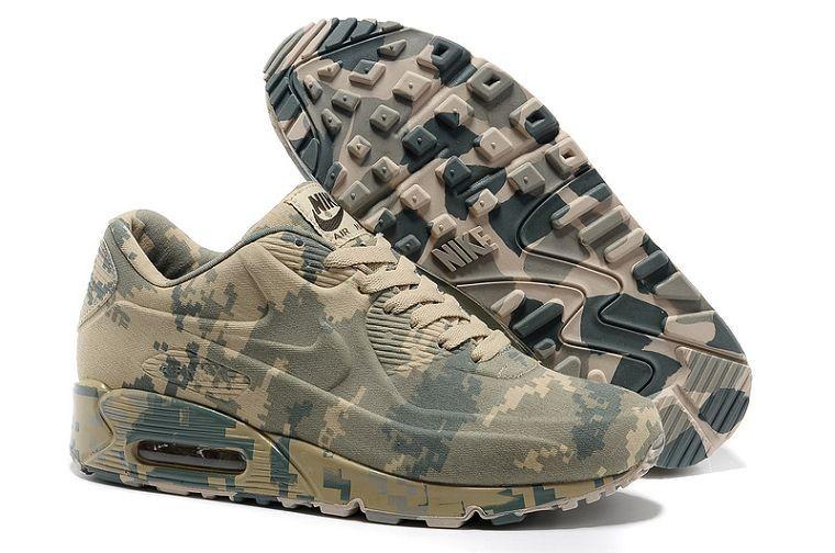 Nike Formateurs Camo Uk