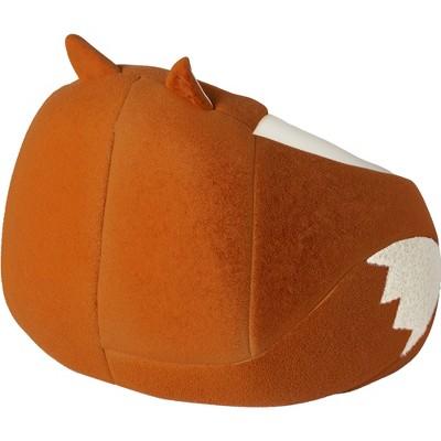 Awesome Character Bean Bag Chair Orange Fox Pillowfort Bean Bag Machost Co Dining Chair Design Ideas Machostcouk
