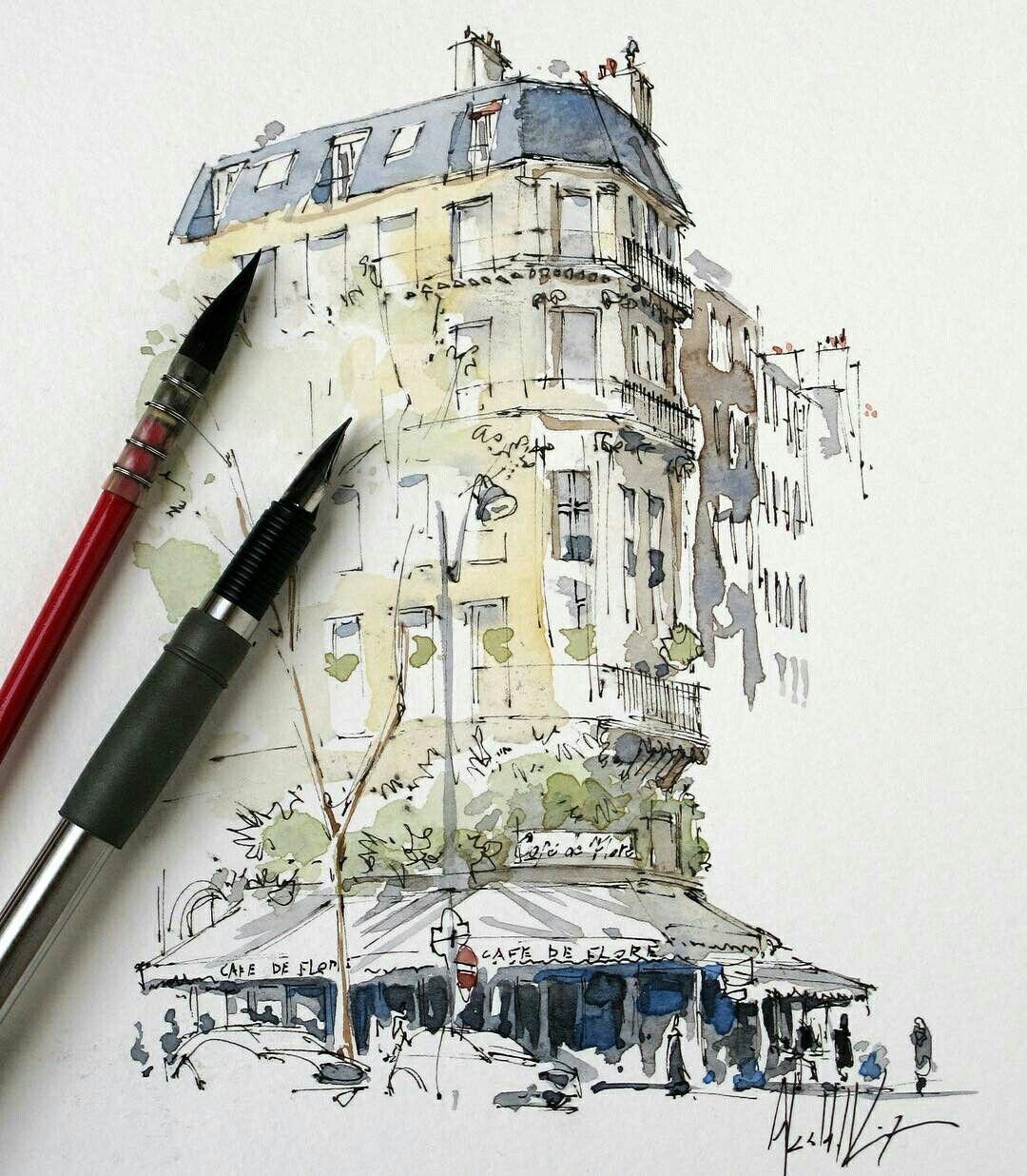 건축 스케치 책