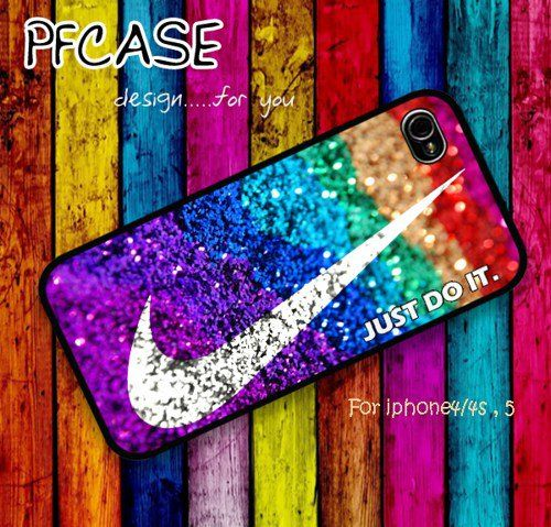 the best attitude 217ee e22ce Nike just do it with glitter   Case For Iphone 4 4s ,5  Samsung S2,3,4