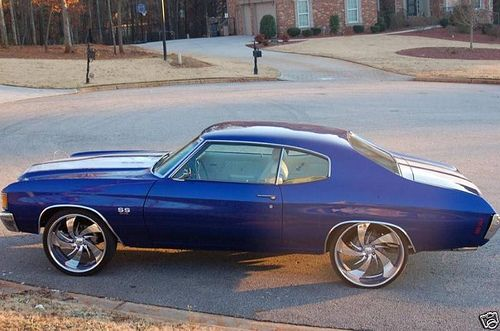 Chevelle On 24s Google Search Muscle Cars Cars Motorcycles