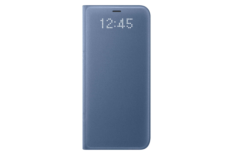 Samsung Galaxy S8 Led Cover Ef Ng950plegww Blue Products Galaxy S8 Samsung Galaxy Mobile Accessories