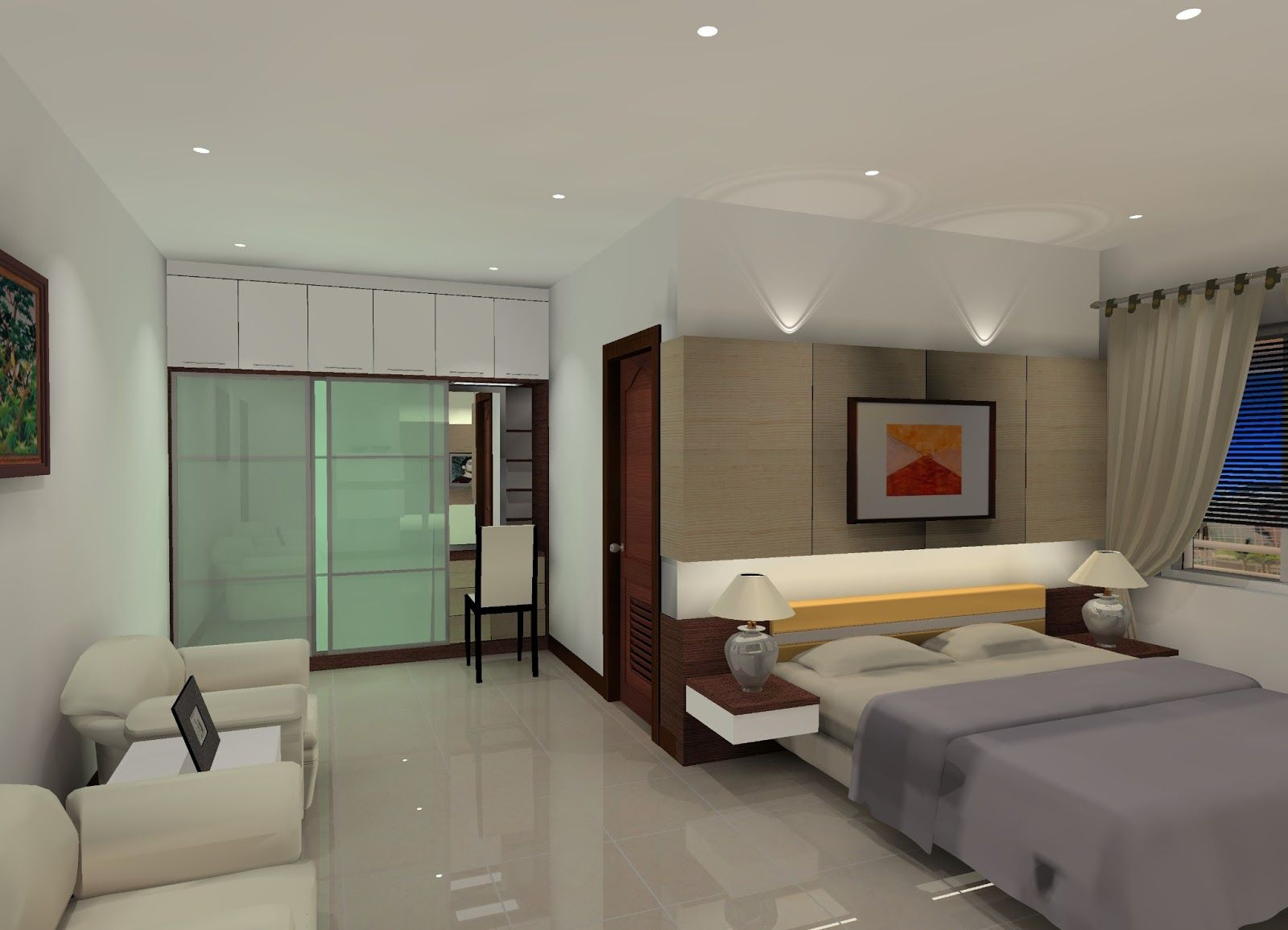 Desain interior kamar tidur utama dengan fungsi yang optimal also bedroom pinterest rh
