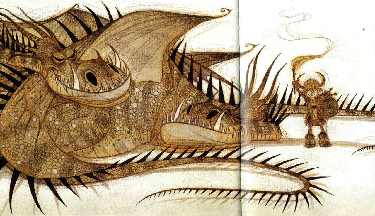 Картинки всех драконов из как приручить дракона с названиями общем, если