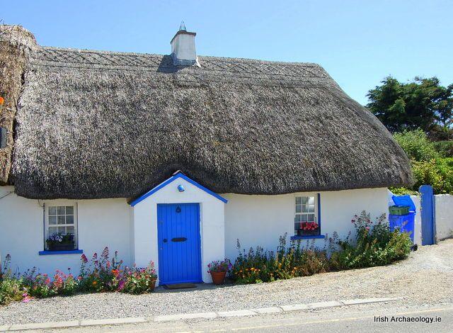Blackwater (comté de Wexford, Irlande), maison Maison avec toit de
