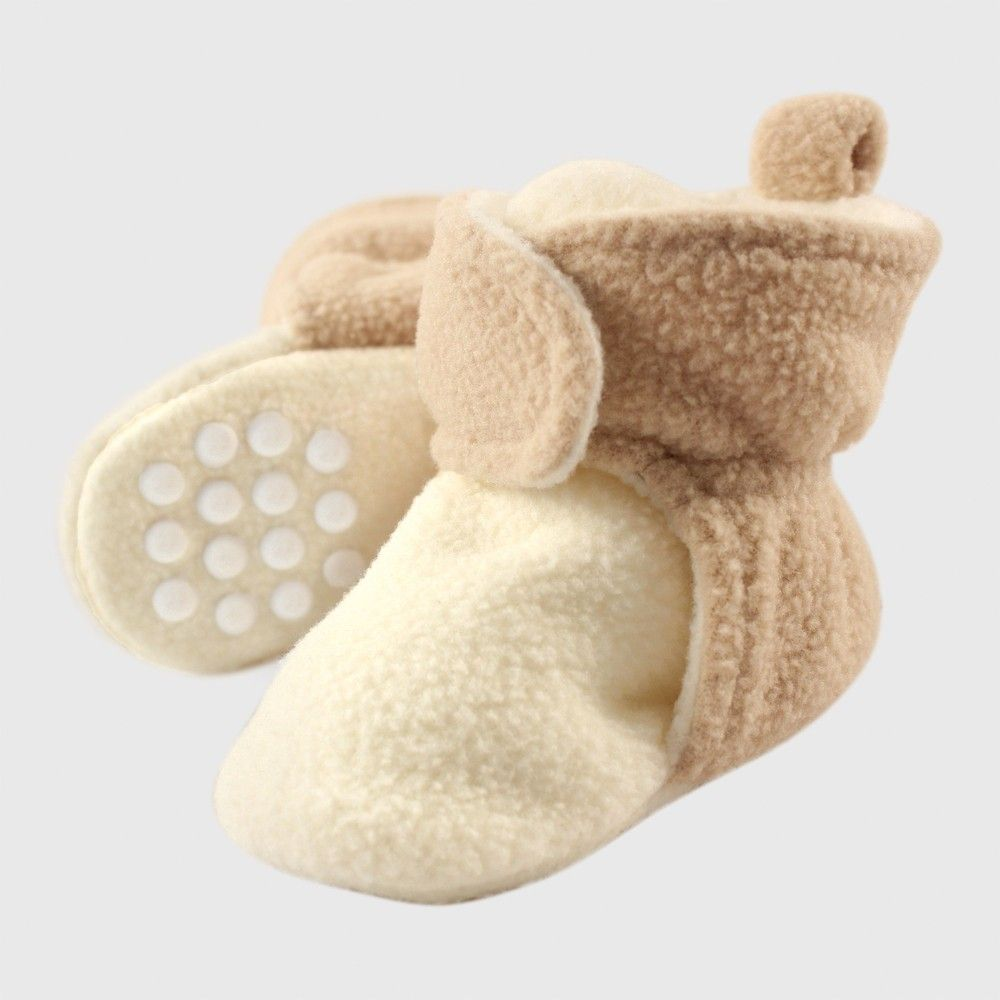 Baby Toddler Boys Girls Warm Fleece Non Slip Slippers  Booties  Size 0-6m,6-12m