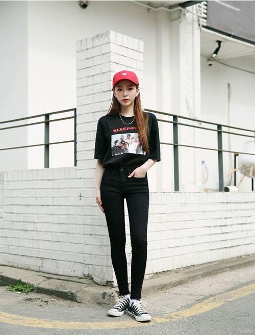 black on black, from my korean inspo album