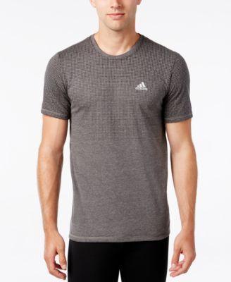 adidas Men s Aeroknit ClimaCool T-Shirt  6bc9017726f08