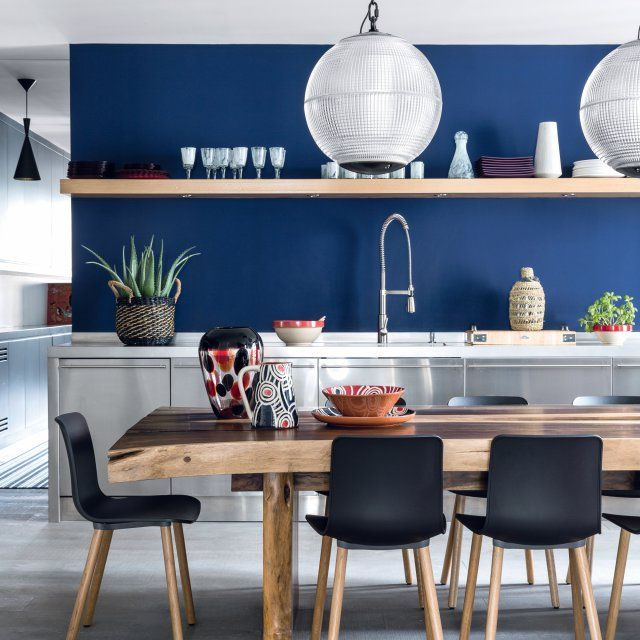 L\'intérieur glam & folk d\'une voyageuse   Kitchens and Room
