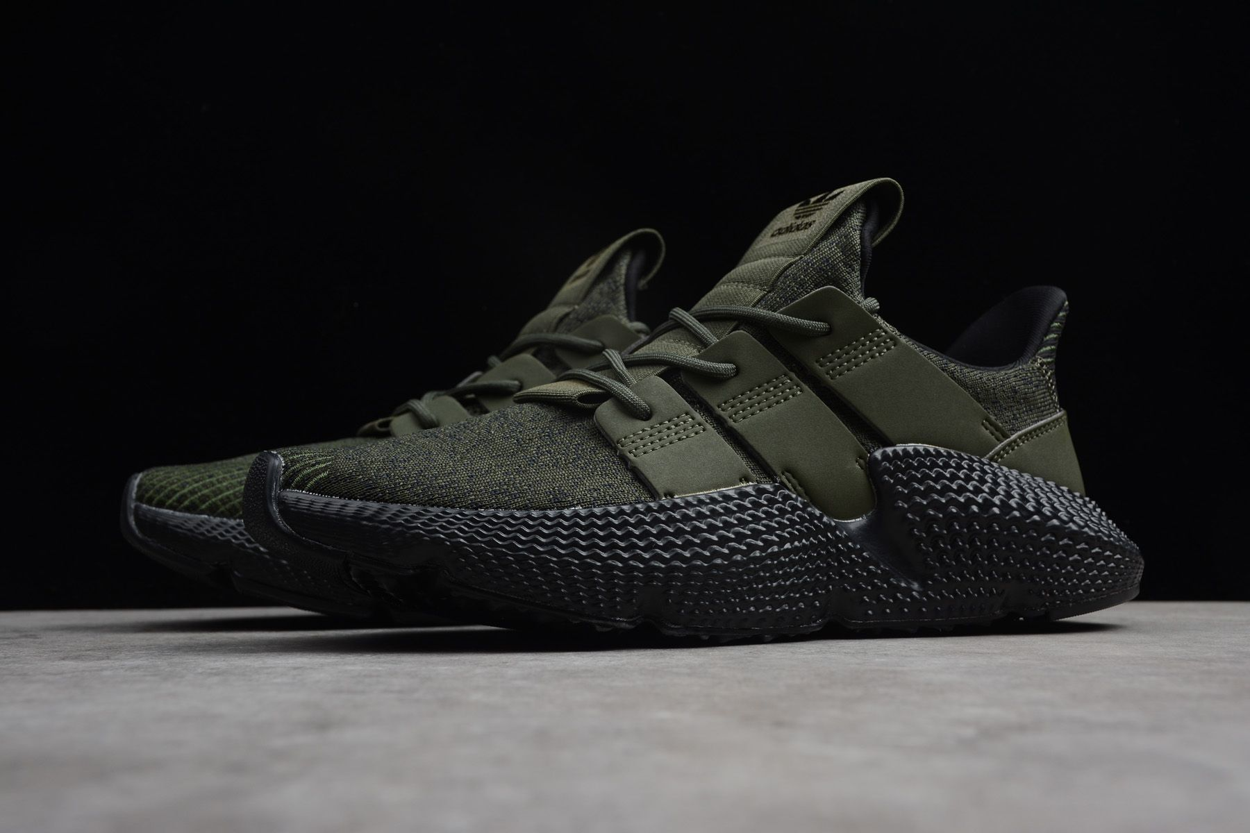 new style 970a2 57c37 Men s adidas Prophere Black Olive BD7589   NMD 2019
