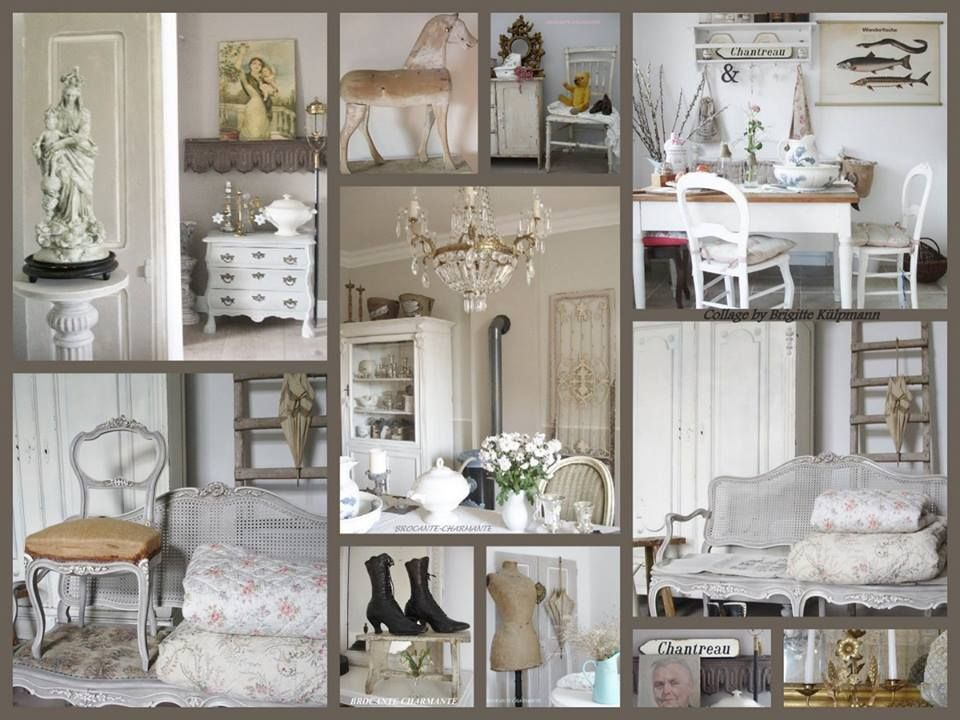 collage brocante charmante brocante pinterest brocante. Black Bedroom Furniture Sets. Home Design Ideas