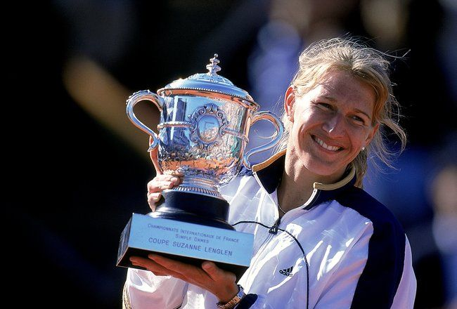 French Open Memories The Day Steffi Graf Became French Steffi Graf Tennisspieler Tennis