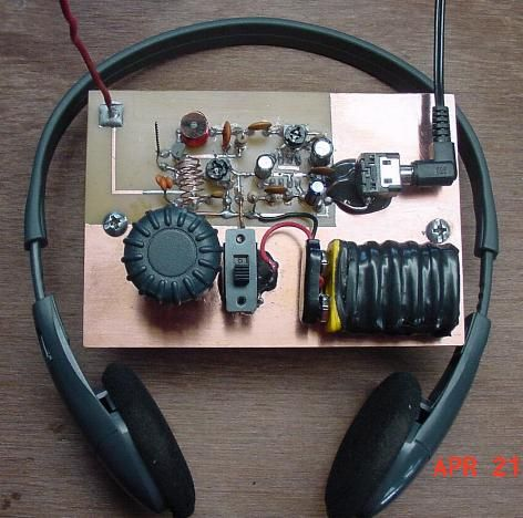 Build a one transistor fm radio electronics pinterest radios build a one transistor fm radio solutioingenieria Image collections