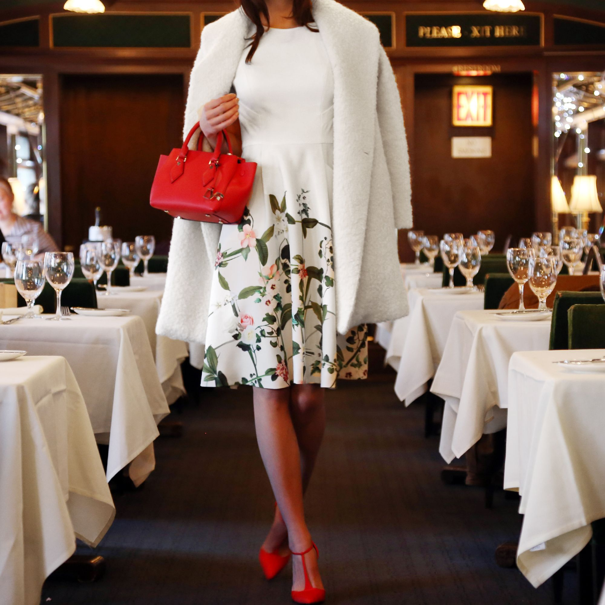Lunch at Le Train Bleu. Who's coming? (CC: Vince, DVF, Ted Baker, SJP)