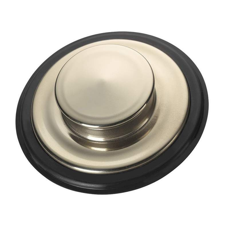 InSinkErator 74278 Sink Stopper For Kitchen Sink Brushed Stainless Steel  Accessory Basket Strainer Stainless Steel
