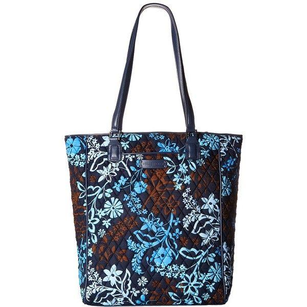 Vera Bradley Crosstown Tote (Java Floral) Tote Handbags ($78 ... : quilted floral tote bags - Adamdwight.com