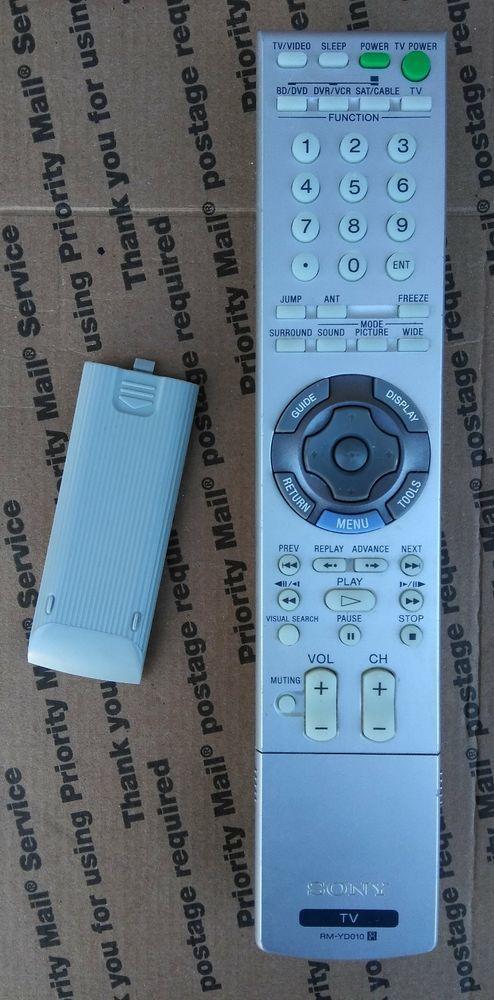 sony rm yd010 remote kds 60a2020 bravia kdl 46xbr3 kdf 50e2000 rh pinterest com Sony BRAVIA 46 Inch TV Sony BRAVIA 46 User Manual