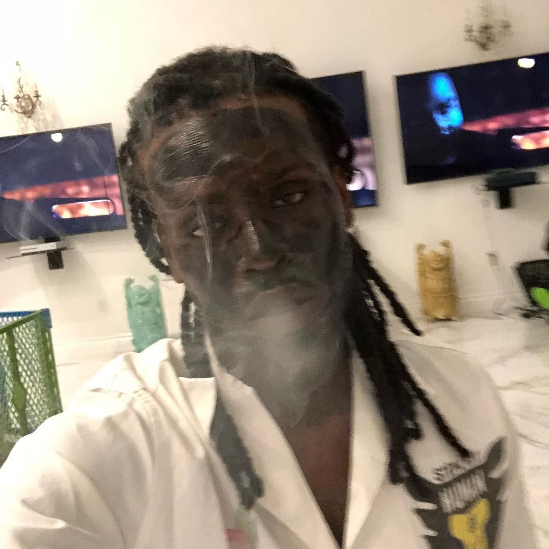 Chief Keef On Instagram Black Mask Got My Face Stiff Asl
