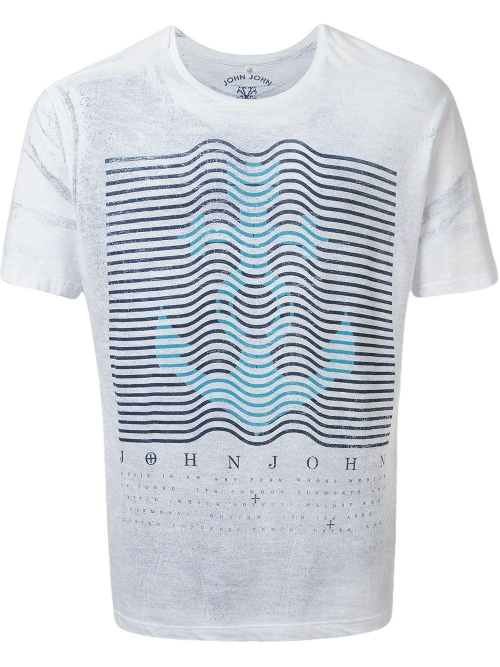 John John Camiseta Com Estampa - Restoque - Farfetch.com ... e4c2d36c6cf78