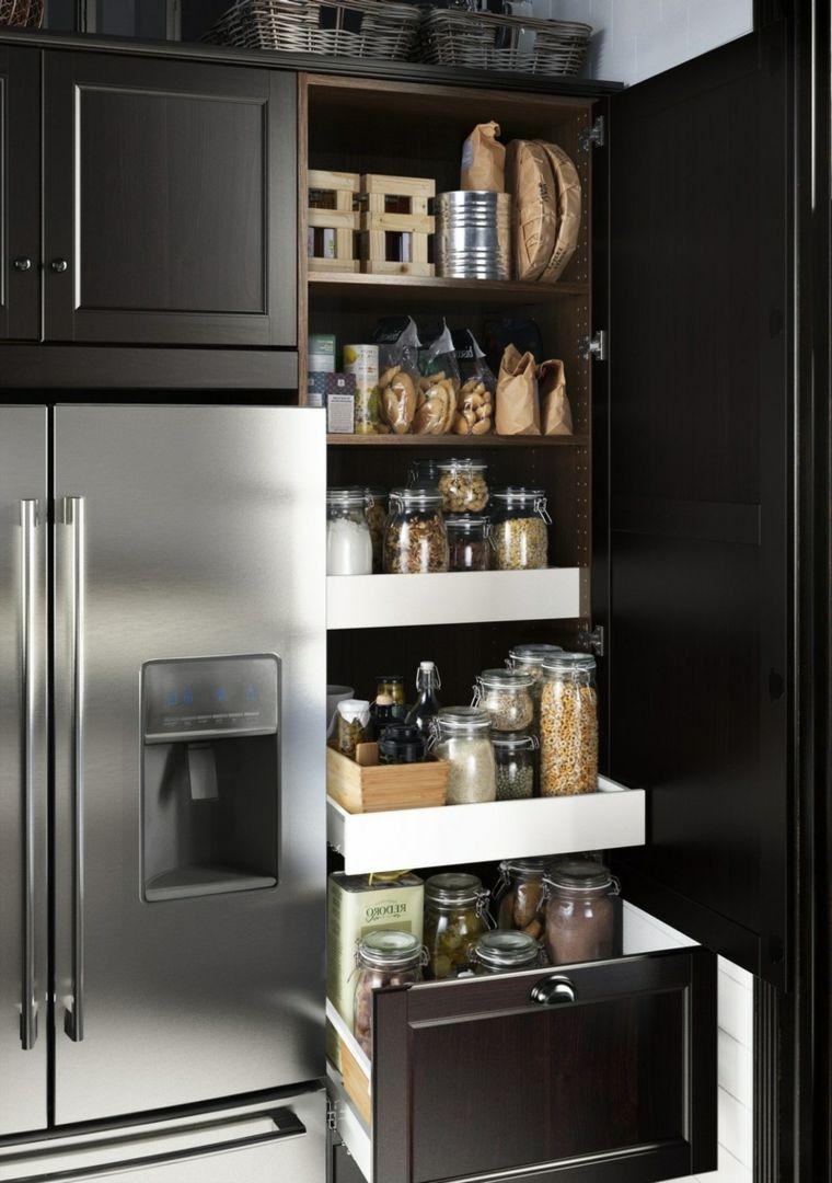 arredamento-cucina-idea-originale-storage-alimenti-frigorifero ...