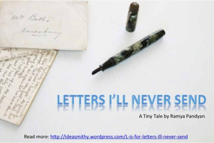 L Is For Letters ILl Never Send