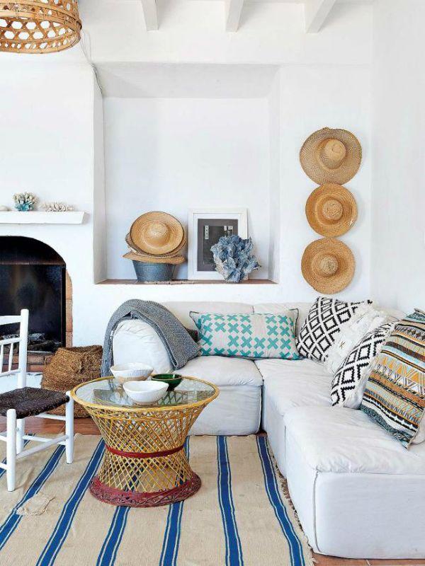 Mrs boho una casa de vacaciones en alicante sencilla y natural salas chic en 2018 pinterest - Casas de vacaciones en alicante ...