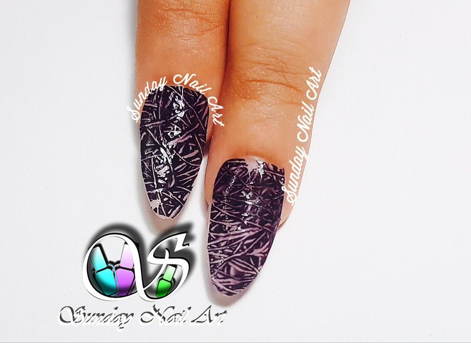 Monochrome Wired Nails By Sunday Nail Art Video On Youtube