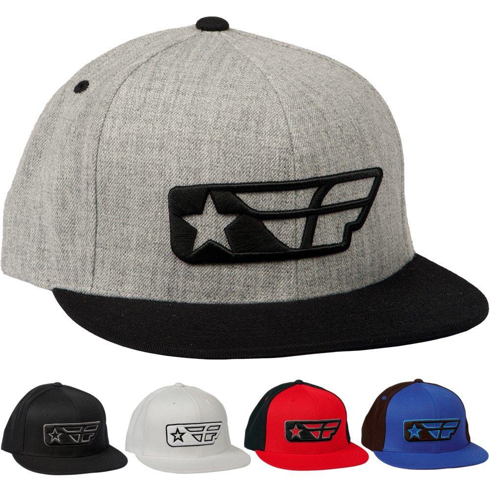 Fly Racing F-Star Snapback Mens Off Road Motocross Caps Lids Hats