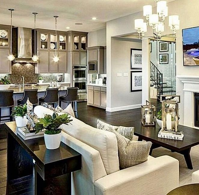 Kitchen Living Room Combination: 36+ The Secret Of Kitchen And Living Room Combo That No
