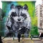 New Trash and Found Object Murals by 'Bordalo II' on the Streets of Lisbon